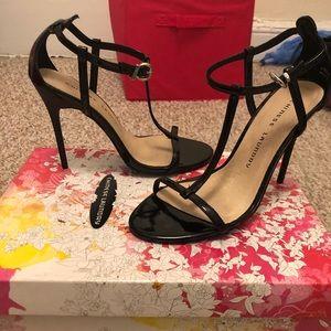 "Chinese Laundry 3"" stiletto black heels"